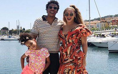 Impresionante Yate estrenan Beyoncé y Jay Z